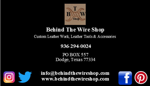 Contact Information for Behind the WIre Shop