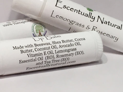 Rosemary Lemongrass Lip Balm