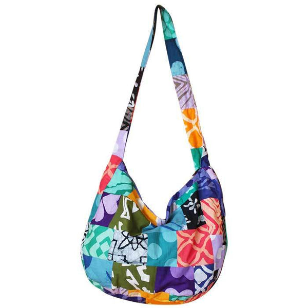Globe Trotter Bag Patchwork - Global Mamas (P)