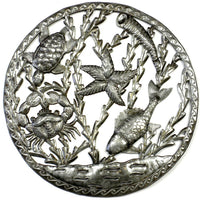Sealife in Ring Wall Art - Croix des Bouquets