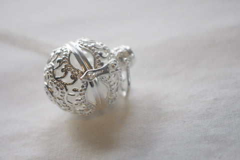 Intricate Silver Cage