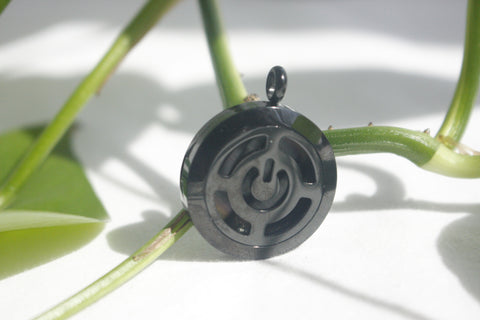Tech Power Button Diffusing Locket
