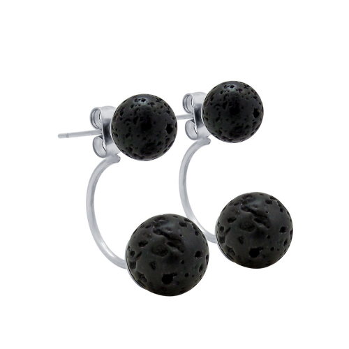 Lava Double Stud Earrings