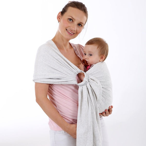 Super Soft Organic Cotton Baby Wrap For 0-36 Months, 2.2m Breathable Baby Slings
