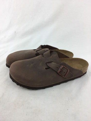 6a5b661996d622 Birkenstock Boston Brown Soft Footed Size EUR 39 - US L8 M6 C3910 ...