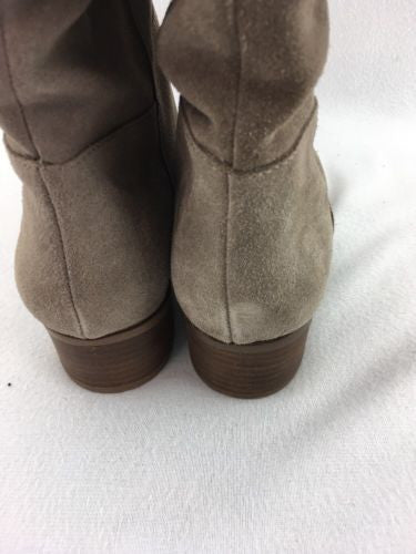faf5e079476 ... Steve Madden Ponderosa Women s Taupe Suede Pull On Knee Boots Size 8.5  RH9919 ...