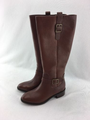 8190ddbd91bf Cole Haan Kenmare Ladies Tall Riding Boots Harvest Brown Lthr Size 6.5B  RH9840