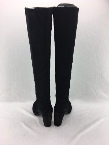 88dcf049cda ... Nine West Snowfall Women s Black Suede Over The Knee Boot Size 11M  RH10020 ...