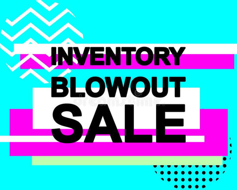 ALL INVENTORY - CLEARANCE SALE
