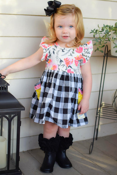 Icing Knee High Boot Socks - Black - Child L