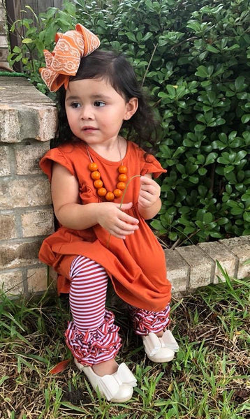 Pumpkin Pearl with Pockets - Size 6m, 18m