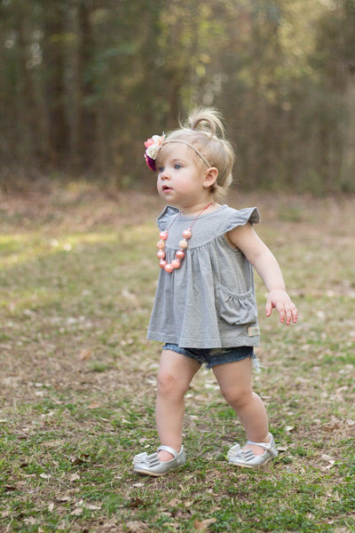 Gray Skies Pearl with Pockets - 3m, 2t