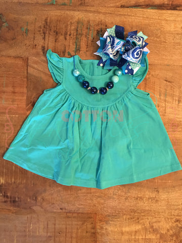 Turquoise Pearl - Size 3m, 6m, 12m, 18m