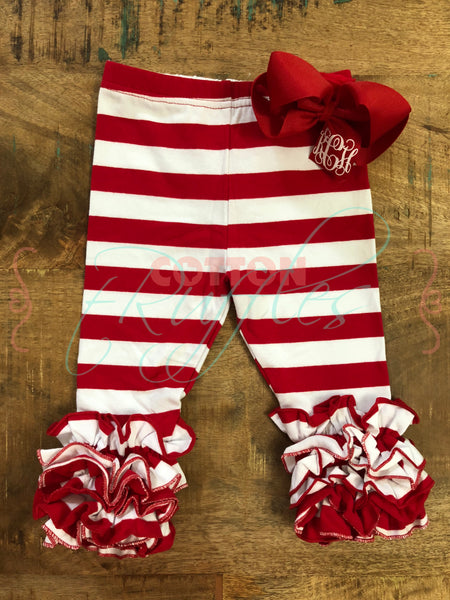 Candy Cane Stripe Icings - Size 6m, 12m