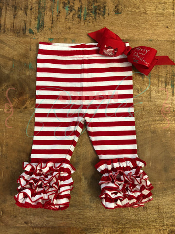 Candy Cane Thin Stripe Icings - 12m
