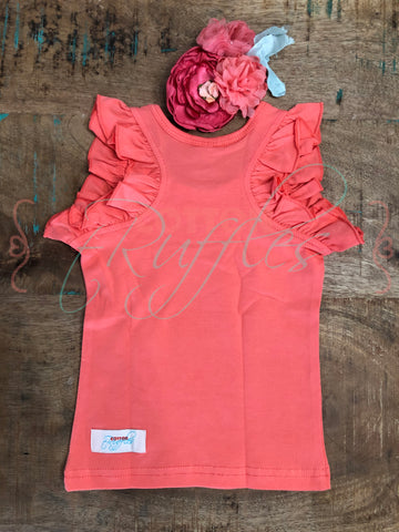 Coral Ruffle Racer