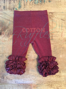 Heather Maroon Icings - Size 12m