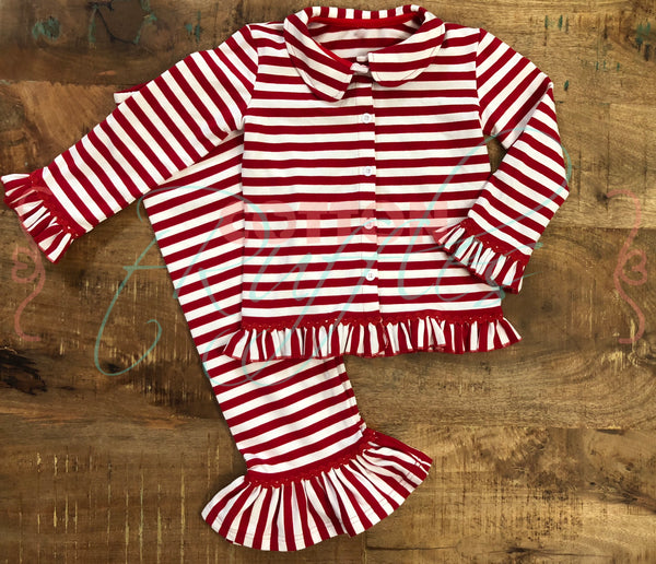 Girls Christmas Jammies- Size 12m, 18m