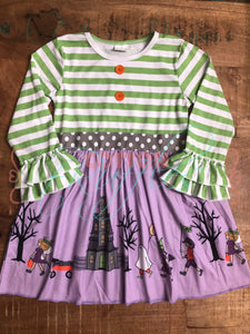 Halloween Scene Dress