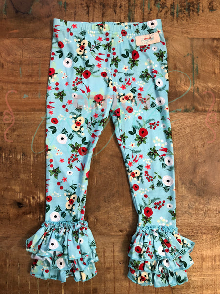 Holiday Floral Holly Truffles - Size 12m
