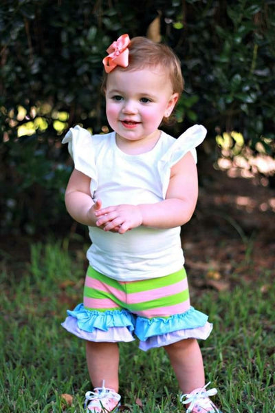 Rainbow Sherbet Shorties - 6m