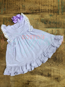 Lavender Twirling Helen Dress - Size 18m