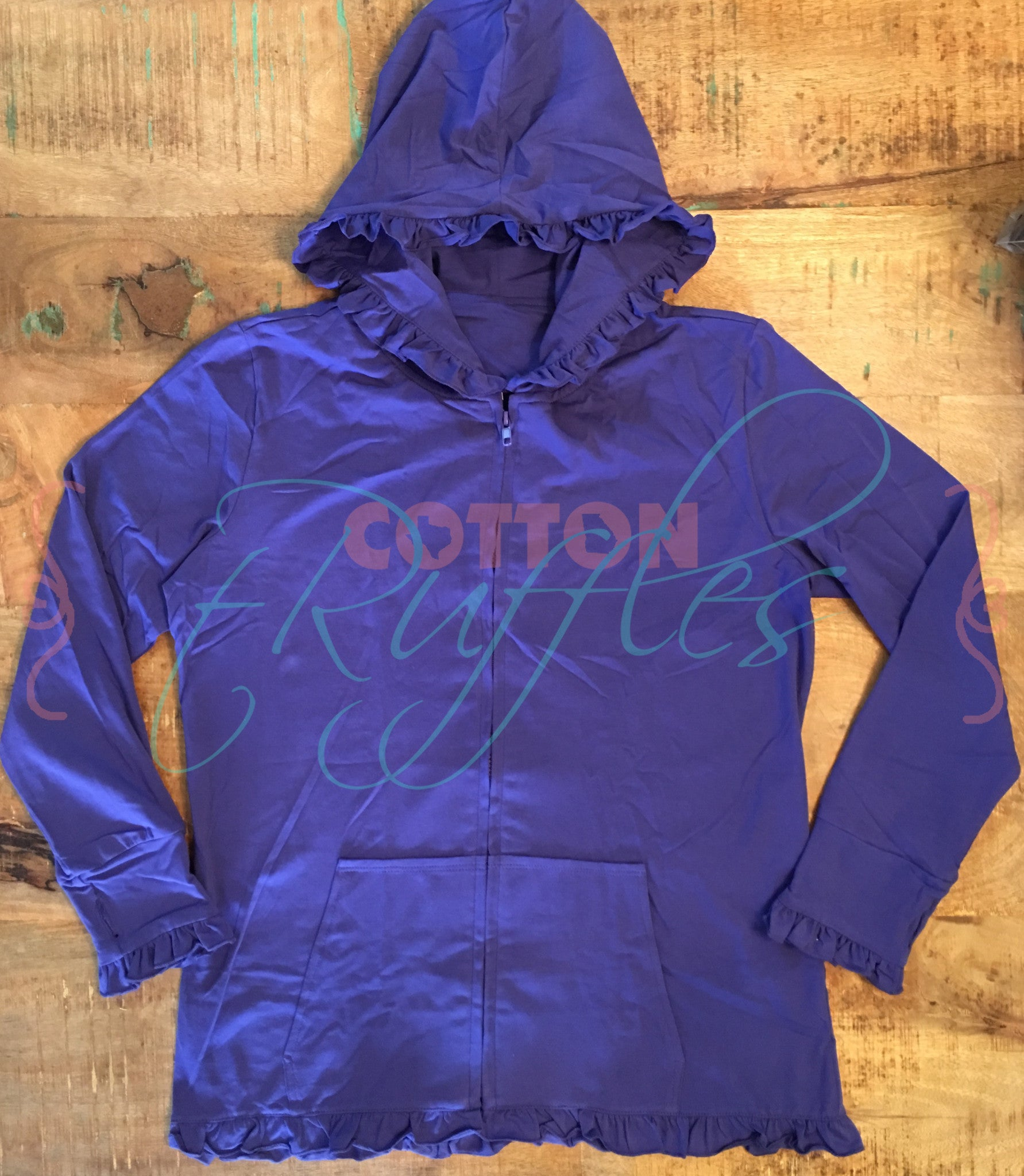 Mommy Grape Hoodie with Thumbhole - M