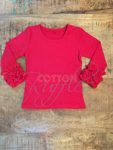 Red Icing Shirt - Size 12m