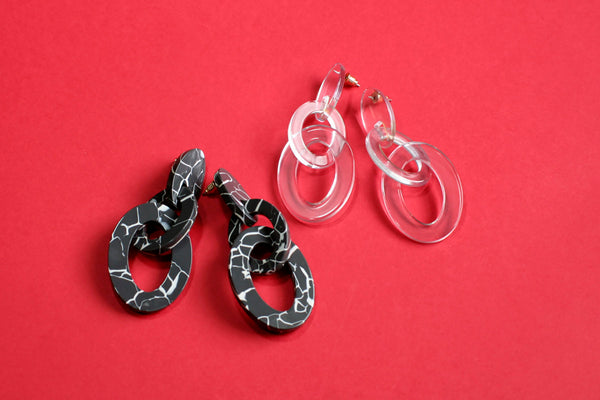 Double Link Earring