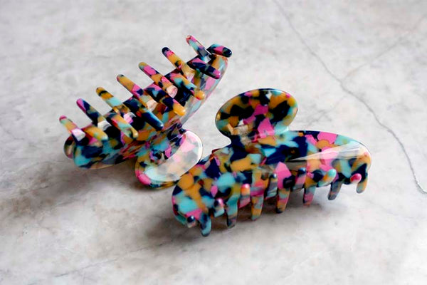 Rainbow Hair Claw