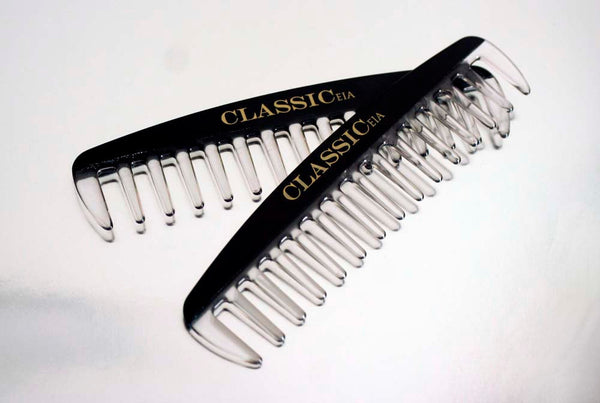 CLASSICeia Detangling Comb, Travel Size, Handmade, Men's grooming & beauty