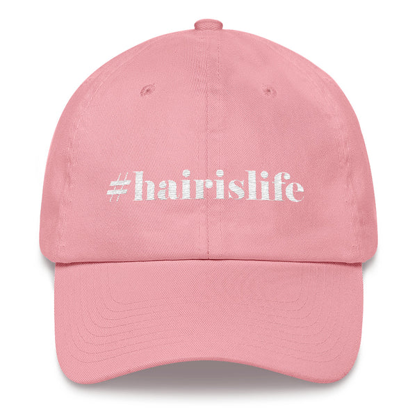 Hair Is Life Cotton Fitted Cap, Multiple Colors