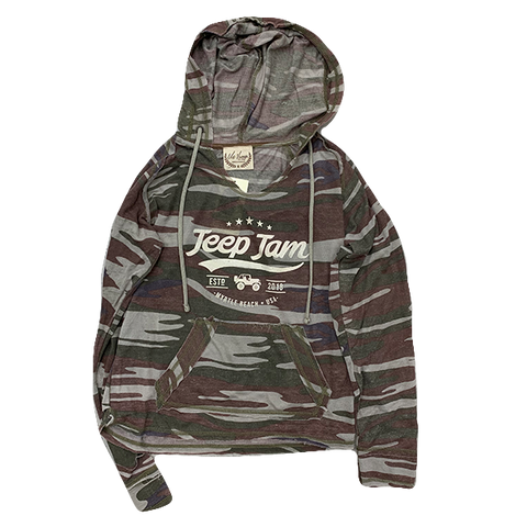 Ladies Established Camo Hoodie
