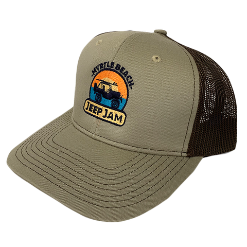 Sunrise Trucker Hat (Khaki)
