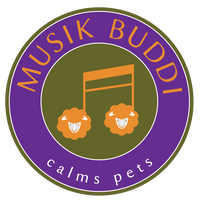 Musik Buddi - soothing anxious pets with music therapy.