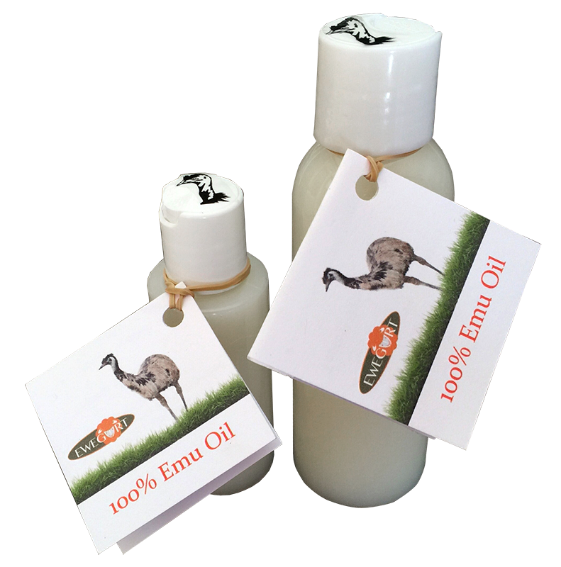 100% Emu Oil, AEA grade, U.S. sourced. Heals sores or hot spots super fast