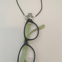 Eyeglass Necklace will hold your Eyeglasses in Elegance