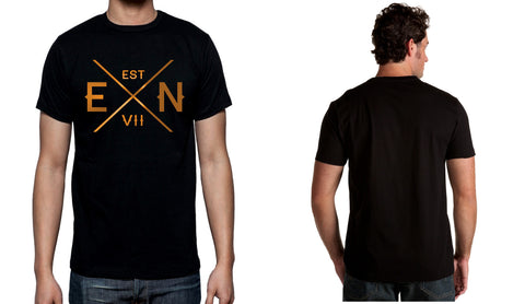 Men's Black Short Sleeve EN-X T-Shirt - WeAreEN