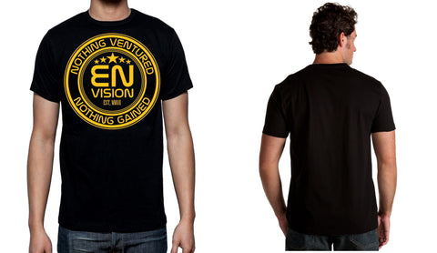 Men's Black Short Sleeve EN-Circle T-Shirt - WeAreEN