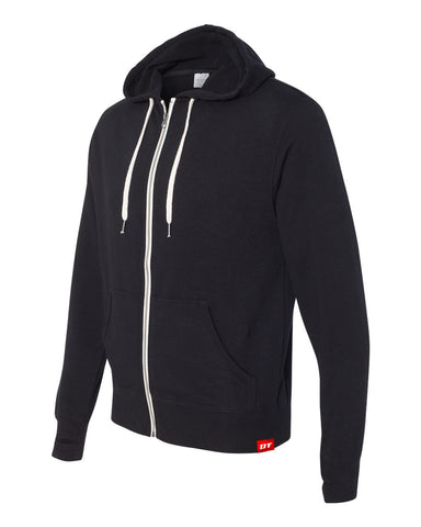 Light Weight Zip-Up Hoodie