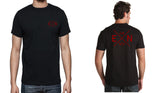 Men's Black Short Sleeve 2 Sided EN-X T-Shirt - WeAreEN