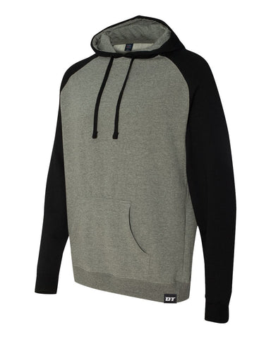 Medium Weight Two Tone Hoodie