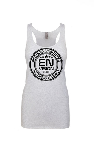 Women's White EN-Circle Tank Top (2-Entries) - WeAreEN