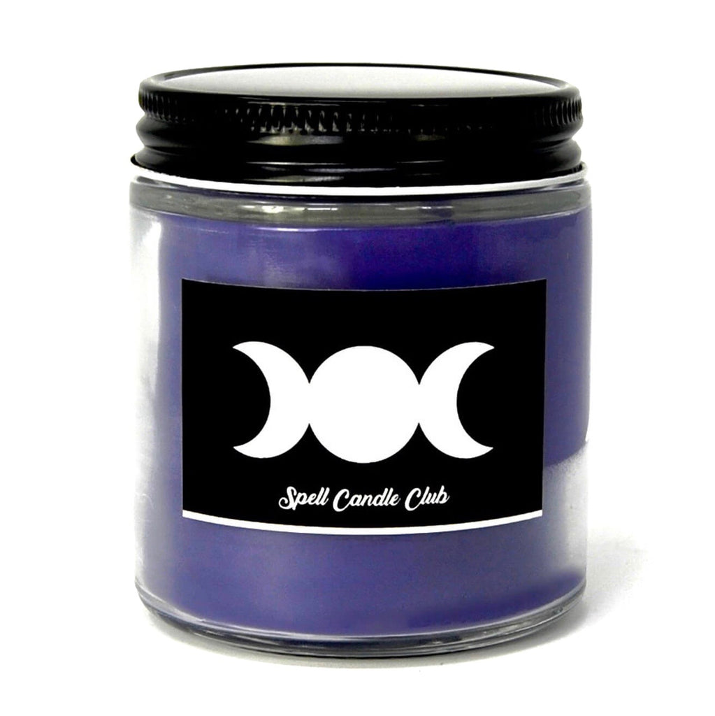 Purple Spell Candle