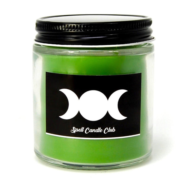 Green Spell Candle