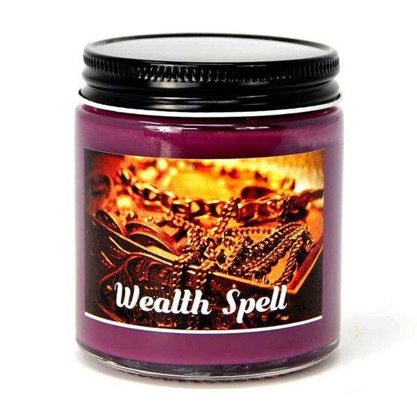 Wealth Spell Candle