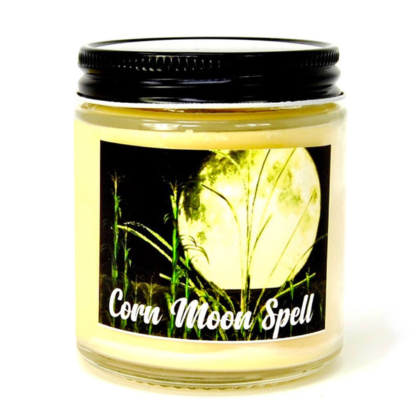 Corn Moon Spell Candle