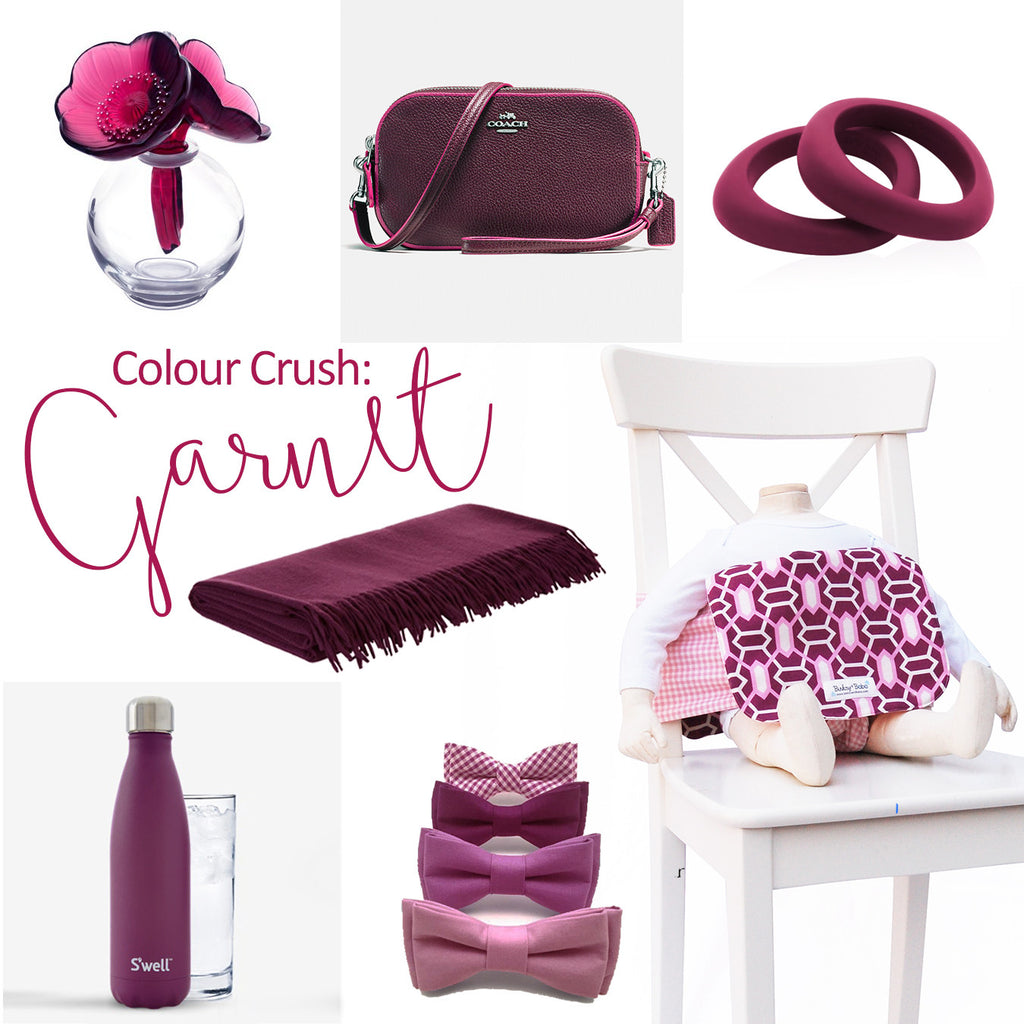 Colour Crush Dekken Chair - GARNET: A fresh new look for Fall