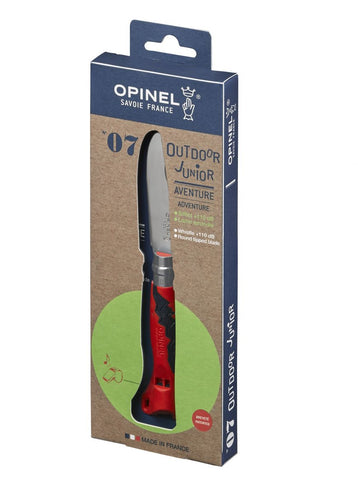 N°07 Outdoor Junior knife Opinel - Red
