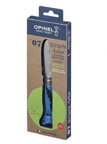 N°07 Outdoor Junior knife Opinel - Blue